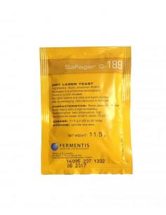 Fermentis levure à bière sèche Saflager S-189 11,5 g