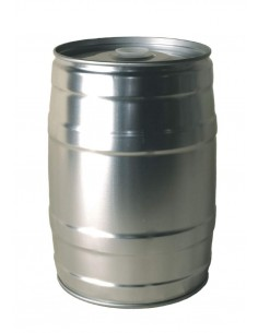 Baril à pression mini 5 l gris + Bouchon