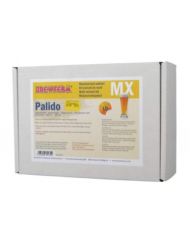 Kit extrait de malt Brewferm PALIDO pour 10 l