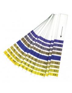 Papier-ph 2,8-4,6 (vin/comboucha) 20 bandes