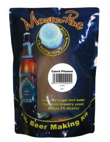 Kit à bière Pilsener Czech MasterPint pour 23 Litres de bière