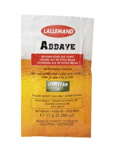 LALLEMAND Abbaye levure à bière sèche, 11 g