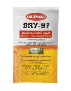 LALLEMAND levure à biere sèche BRY-97 Pale Ale, 11 g