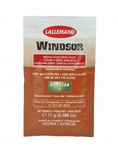 LALLEMAND levure à biere sèchee Windsor Ale, 11 g