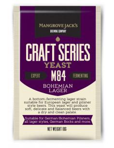 Levure à bière sèche - Bohemian Lager M84 10gr