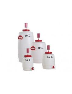 Fût de fermentation de 15 litres complet