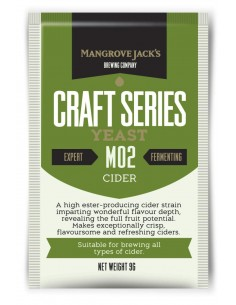Levure sèche Cider M02 - Mangrove Jack's Craft Series - 9 g