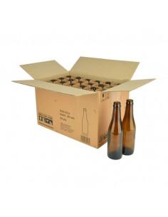 Bouteille de bière Vichy 33 cl, brun, 26 mm, boîte 24 pcs