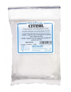 Acide citrique Vinoferm citrol 100 g
