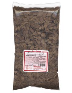 Copeaux de chêne américain - chauffe moyenne 250 g