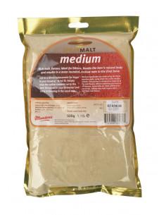 Extrait de malt poudre Muntons medium 22-44 EBC 500 g