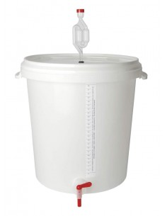 Seau fermentation/brassage 30 l gradué