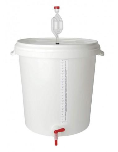 Seau fermentation/brassage BREWFERM 30 l gradué