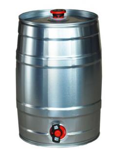 Mini fût à pression 5L  + robinet rétractable