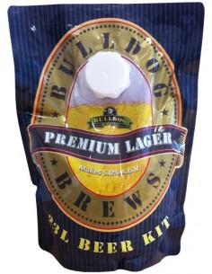Kit à bière Bulldog Premium Lager 23L