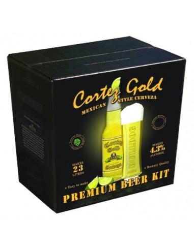 Kit à bière débutant 23 litres Cortez Gold Mexican Cerveza