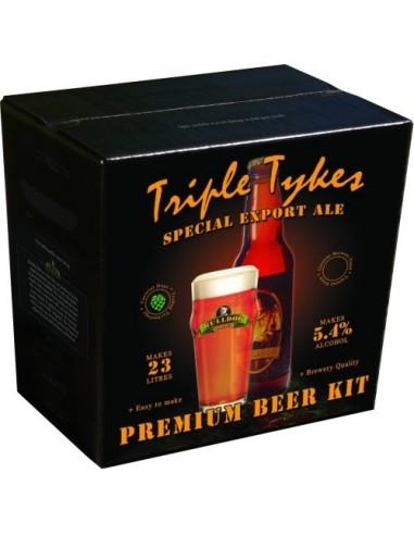Kit à bière 23 litres Triple Tykes 4kg Special Export Ale