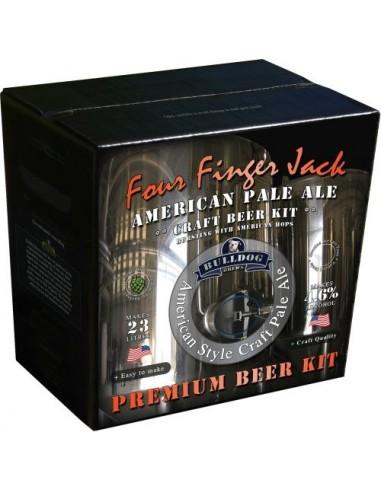 Kit à bière American Pale Ale (Four Finger Jack ) pour 23 litres