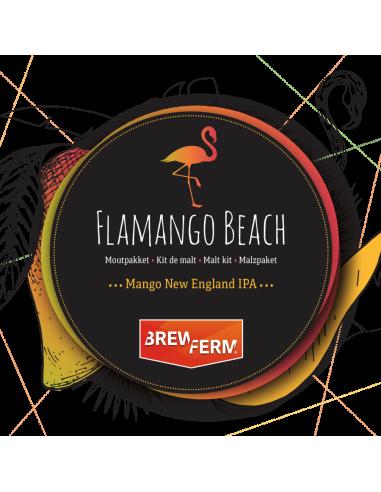 Kit de malt  Flamango Beach BREWFERM pour 20 l