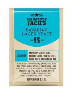 Levure à bière sèche Bavarian Lager M76