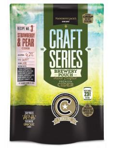 Kit de cidre à la fraise et à la poire - Mangrove Jack's Craft Series 2,4 kg