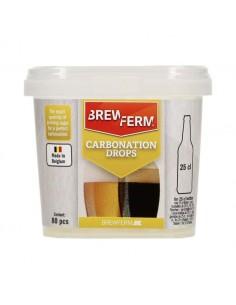 Carbonation Drops pour 25 cl - 80 pcs Brewferm