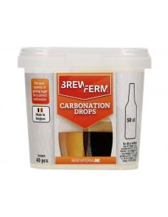 Carbonation Drops pour 50 cl - 40 pcs Brewferm