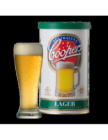 Kit à bière Coopers Lager pour 23 litres
