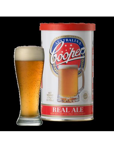 Kit à bière Coopers Real Ale Pour 20 litres de bière