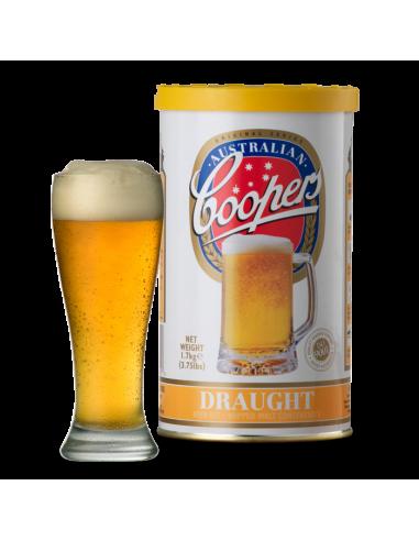 Kit à bière Coopers Draught Ale pour 20 litres de bière