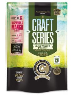 Kit a cidre framboise et mangue Mangrove Jack's Craft Series - 2,4 kg