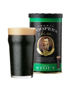 Kit à bière Thomas Coopers Irish Stout  (1.7kg)