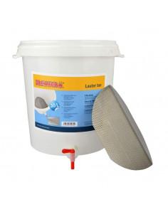 Brewferm® cuve de filtration 30 l avec fond filtrant inox