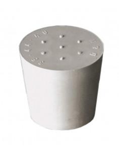 Bouchon caoutch. gris D55/47 sans trou