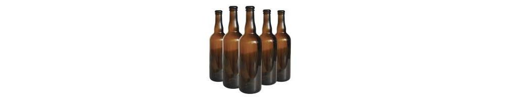 Bouteilles de bière en verre pour conserver sa bière maison